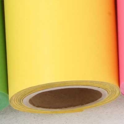 【販売終了】撮影用背景紙 1.36×11mロールバック紙   (338 カナリー/(黄色/イエロー)/巻芯・梱包付)