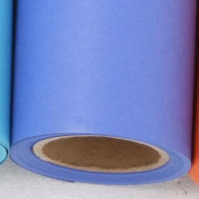 撮影用背景紙 1.36×11mロールバック紙   (358 スタジオブルー(青色)/巻芯・梱包付)