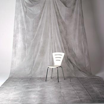 透過型ペーパームラバック 02 ライトグレー(3×6m)