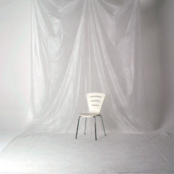 透過型ペーパームラバック 03 ホワイト(3×6m)