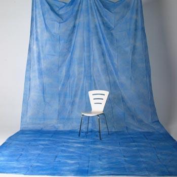 透過型ペーパームラバック 13 青(3×6m)