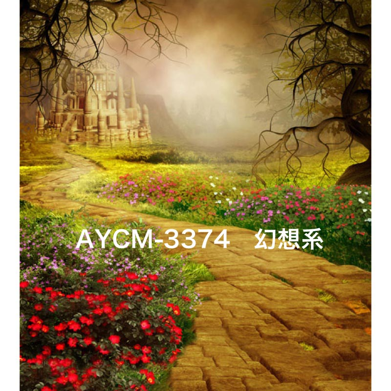 「新」マイクロファイバー・撮影用シーン背景(1.5x2m)_AY15CM-3374