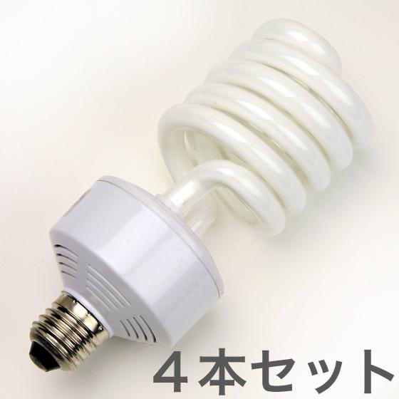 40wスパイラル蛍光管4本セット(デイライト)