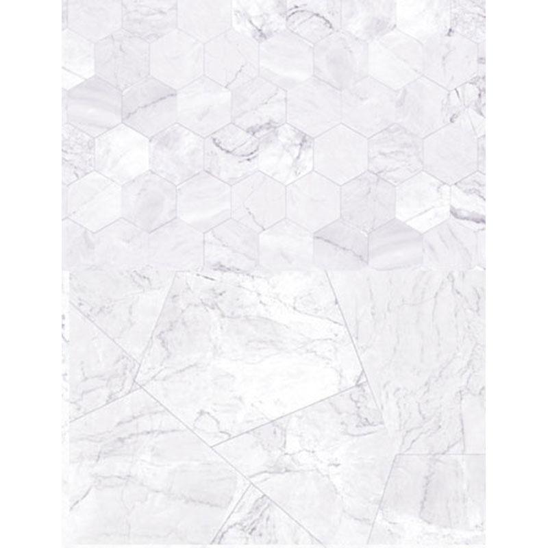 PVCコーティング背景紙(ホワイトタイル)
