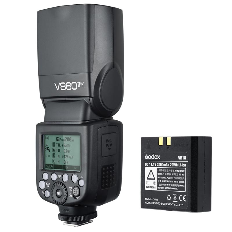 GODOX V860II-O オリンパス(マイクロフォーサーズ)用TTLストロボ