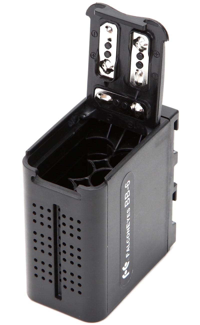 ファルコン単3型 バッテリーボックス6本用