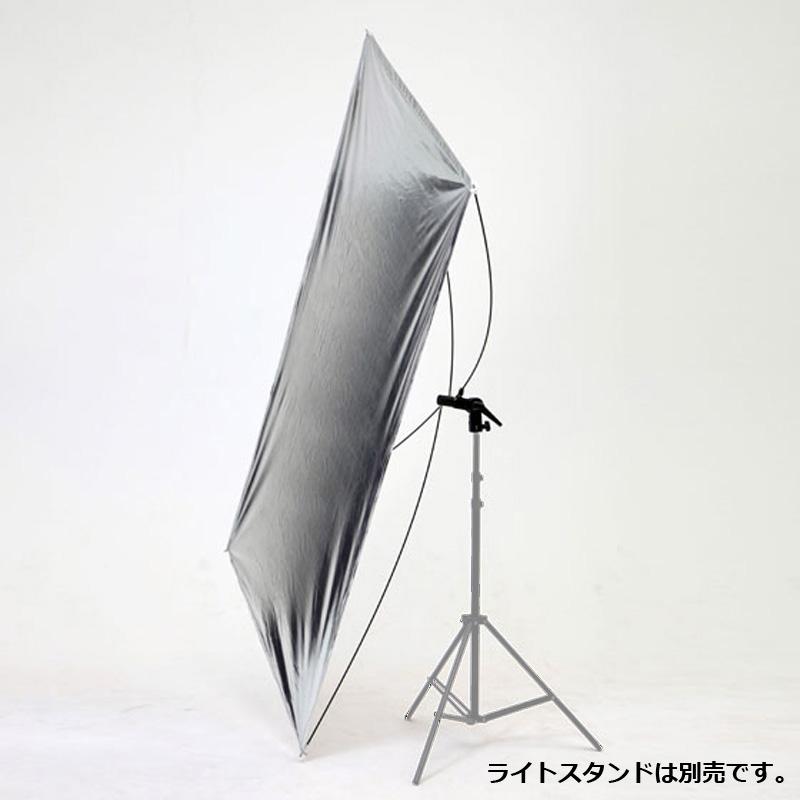 スタンド用リフレクター2in1(シルバー/ホワイト)