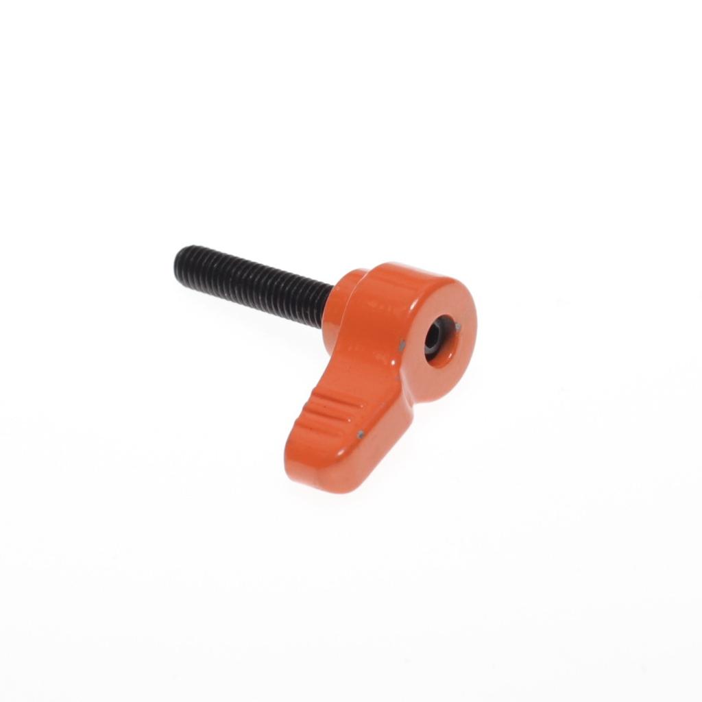 ノブボルトM6×28mmオレンジ(2個1組)
