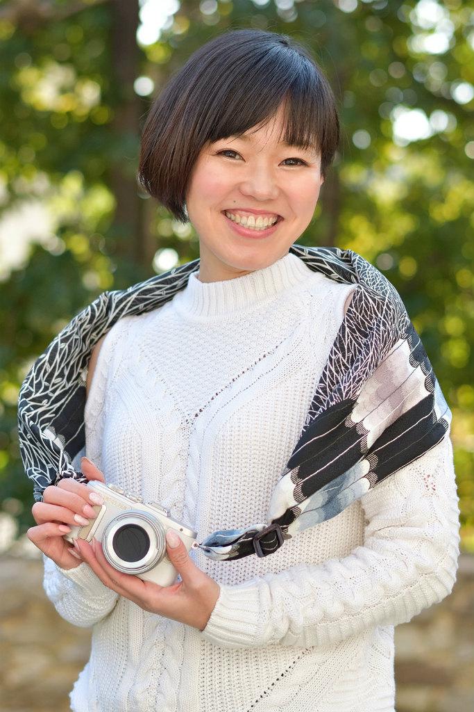 《販売終了》SAKURAカメラスリング沖縄限定バージョン「ユル(夜)」