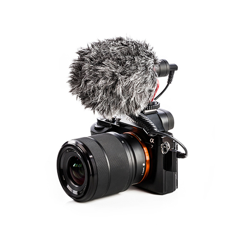 BOYAカメラ/スマホ用ユニバーサルコンパクトマイク