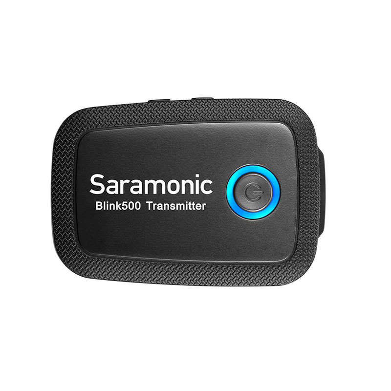 Saramonic Blink 500 B2  2.4GHzワイヤレスラベリアマイクセット(マイク2本+レシーバー1台)技適認証済