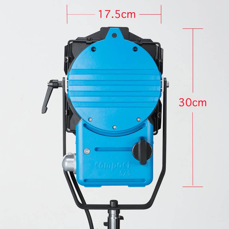 《販売終了》575w HMI コンパクトフレネルライト