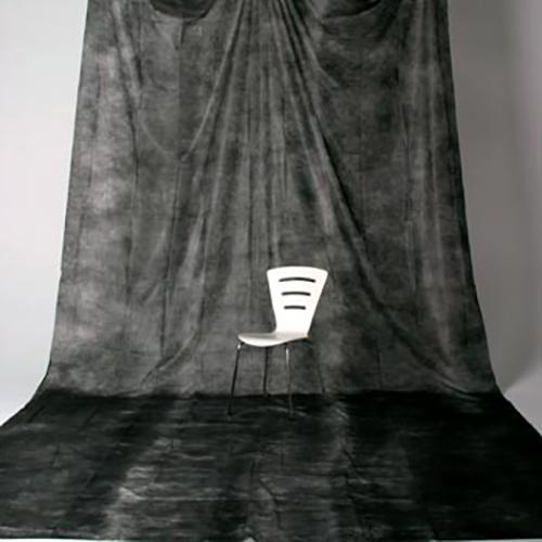 透過型ペーパームラバック 01 ブラック(3×6m)