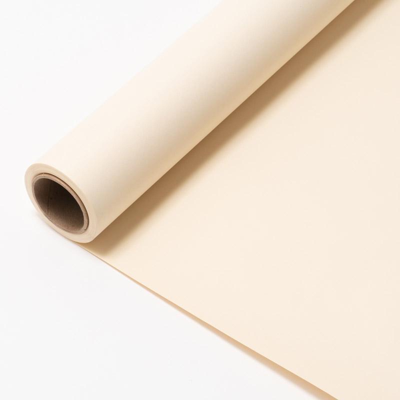 【販売終了】撮影用背景 1.8×11mロールバック紙 (322 エッグシェル(肌色系)/巻芯・梱包付)