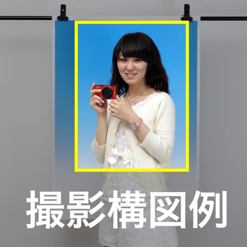 グラデーションペーパー写真撮影用背景紙7色セット GP-7SET