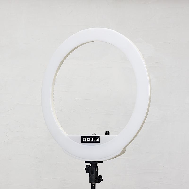 リングライトバッテリータイプM(ホワイト)_KR-18