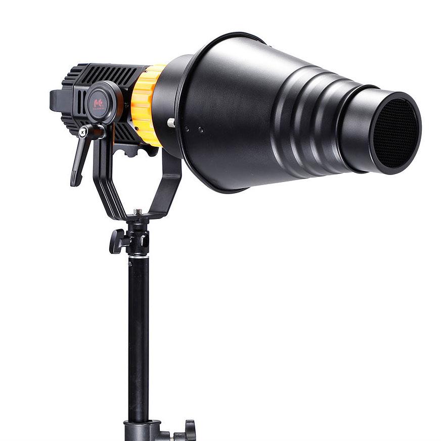 ミニフレネルLEDライト - デイライトタイプ(5600K)P-12D【取り寄せ品】
