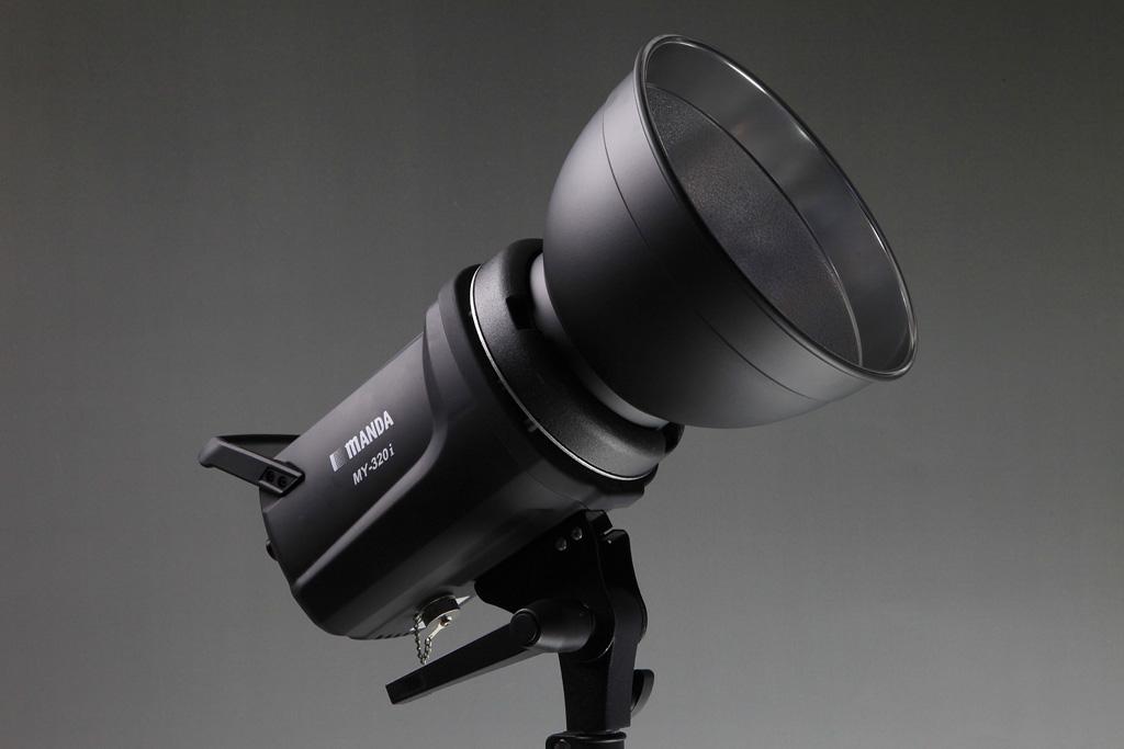 LEDモデリング装備300ws モノブロックストロボAC/DC