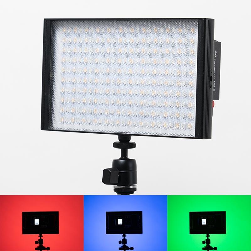 撮影用LED_RGB&色温度調光可能_T8