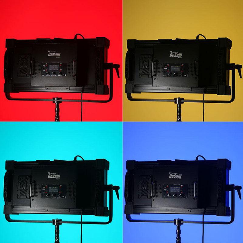 400Wパネルライト RGB色温度可変タイプ D-S812