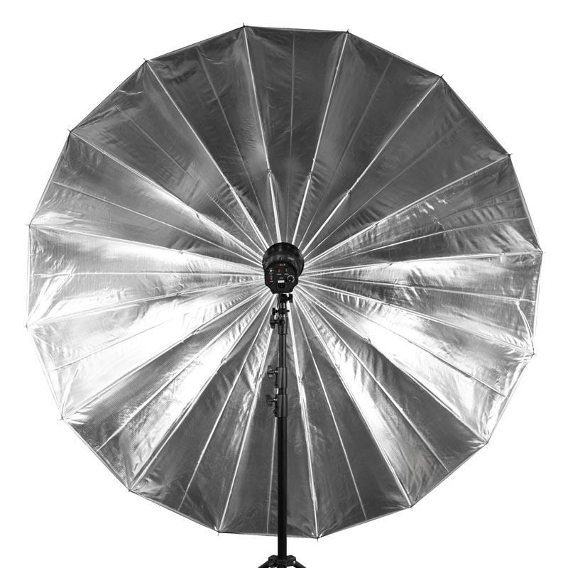 イージービッグアンブレラ シルバー 銀 180cm