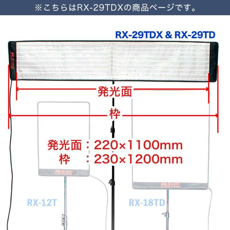ロールフレックスLEDバイカラー_RX-29TDX