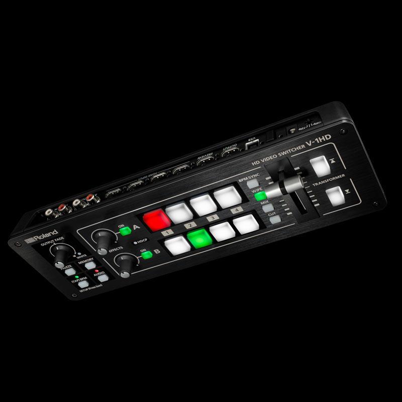 コンパクトHDビデオスイッチャー V-1HD(Roland)