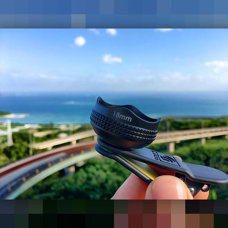 《販売終了》スマホ用18mm広角レンズPRO