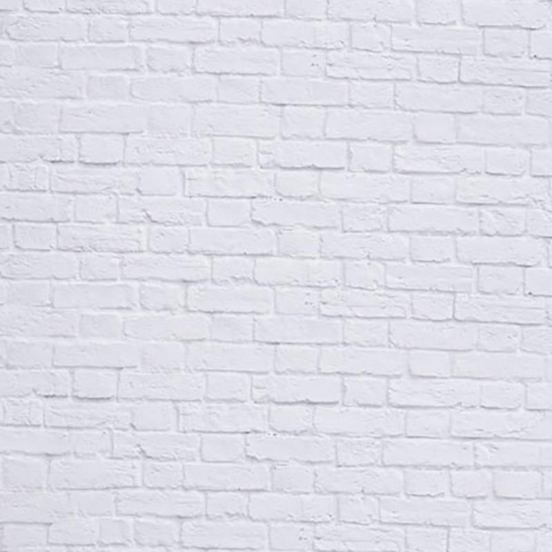 マイクロファイバー・撮影用シーン背景(横3m×縦3m)_LL-0051-33(白煉瓦)