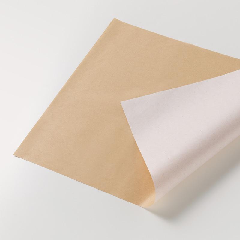 【お取り寄せ】包装紙 半才 エコデュオWH 50枚入