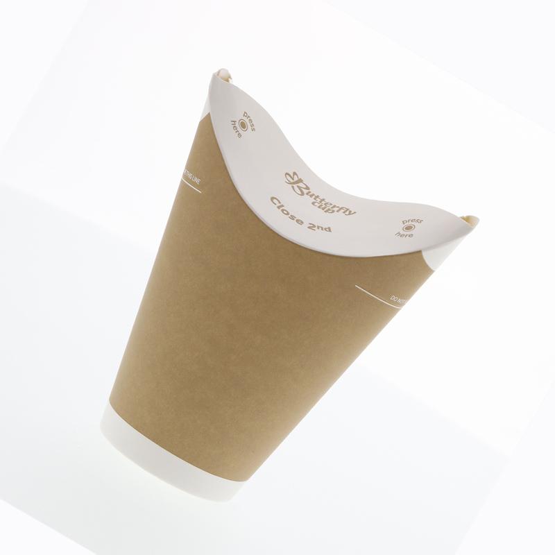 バタフライカップ 12オンス ホットシングル クラフト HEIKO 40個