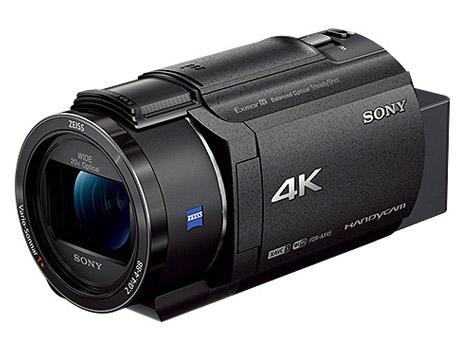 【延長】4Kビデオカメラ SONY FDR-AX45