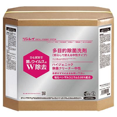 リンレイ ハイジェニック除菌クリーナー中性 18L