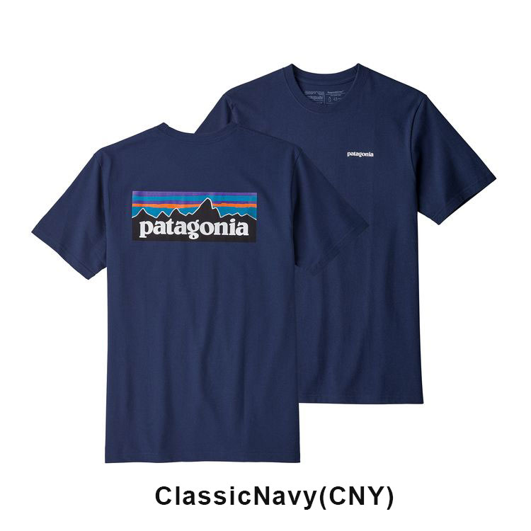パタゴニア Tシャツ patagonia M's P-6 Logo Responsibili Tee メンズ P-6ロゴ レスポンシビリティー #39174 返品不可