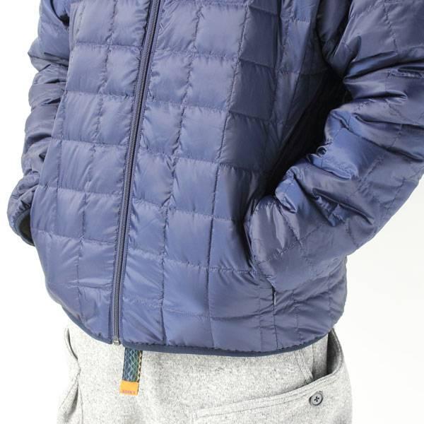 TAION タイオン ダウン × ボア リバーシブル ダウンジャケット TAION-R102MB /インナーダウン メンズ ユニセックス レディース 秋 冬 秋冬 軽量 キャンプ フェス ファッション ブランド