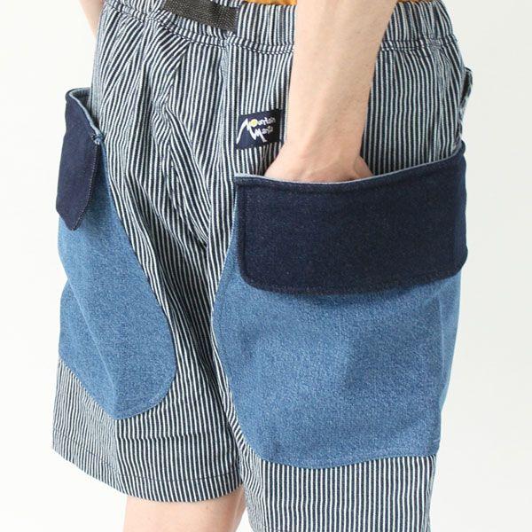 【送料無料】 Mountain Mania マウンテンマニア カーゴショーツ キャンプ 服装 ファッション 春 夏 アウトドアブランド ショートパンツ メンズ 膝上 大きいサイズ