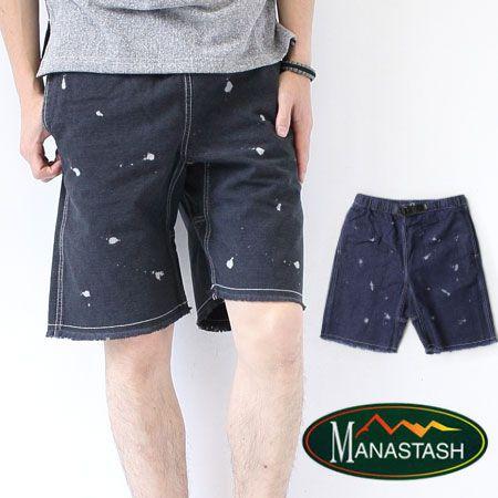 Manastash マナスタッシュ CUTOFF CLIMB SHORTS カットオフクライムショーツ ショートパンツ/メンズ アウトドア