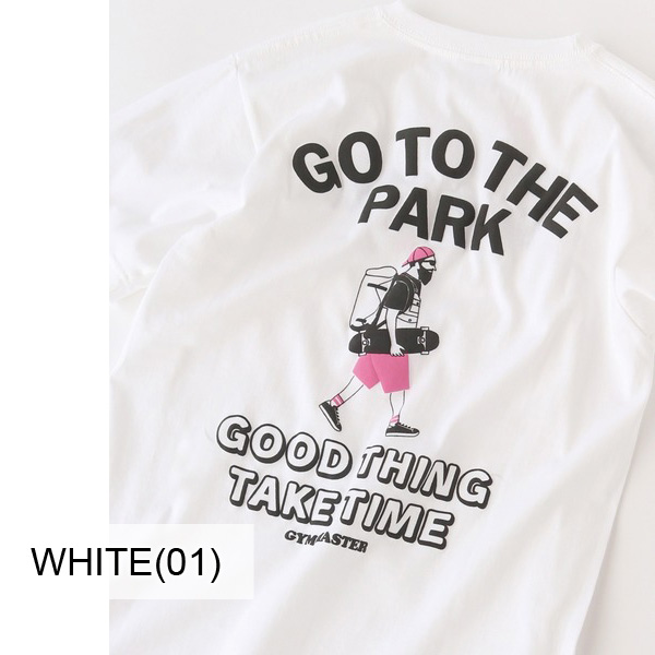 gym master ジムマスター GO TO THE PARK TEE G492692 メンズ Tシャツ