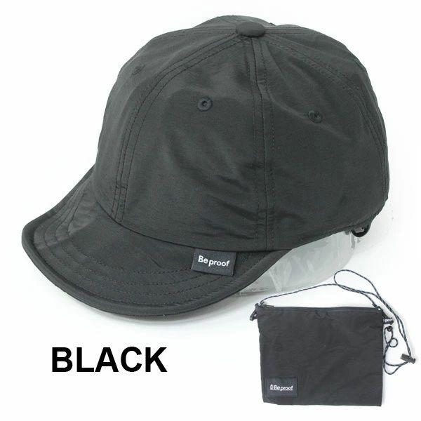 【送料無料】 Be PROOF コットンナイロン 6パネル CAP キャンプ 帽子 キャップ メンズ レディース