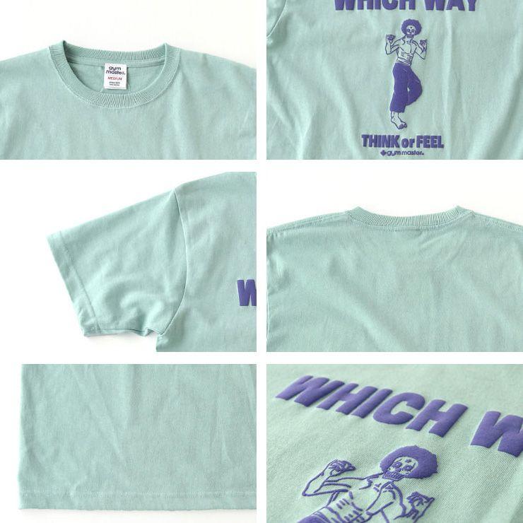 Tシャツ gym master ジムマスター WHICH WAY TEE メンズ レディース ユニセックス ガイコツ スカル トップス カンフー G480676