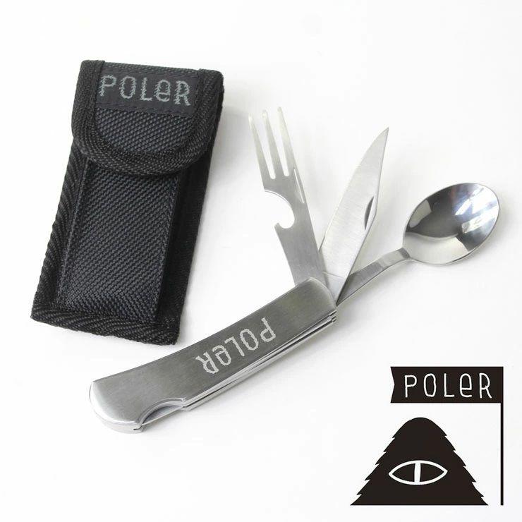 ポーラー POLeR アウトドア ナイフ HOBO KNIFE 211ACU9201 METAL