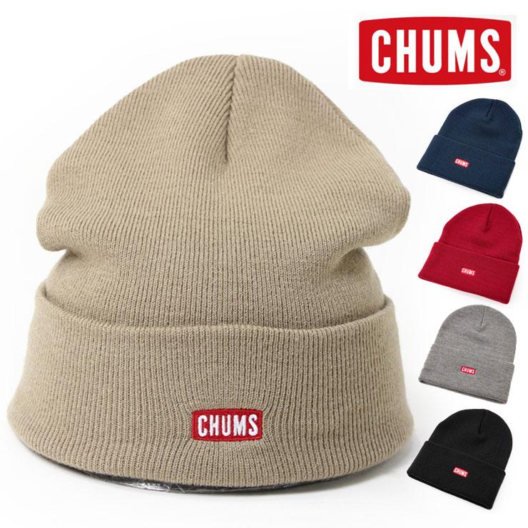 CHUMS チャムス ニットキャップ チャムスロゴ CH05-1214 秋冬 ファッション おしゃれ 秋 冬 キャンプ アウトドア