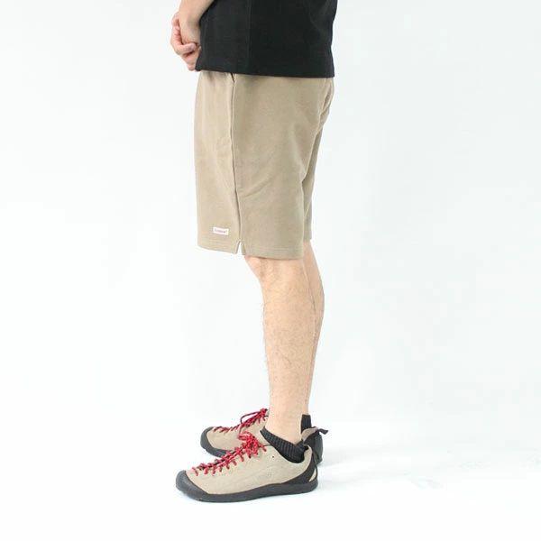グッドウェア Goodwear スウェット リブ ショーツ キャンプ 服装 ファッション 春 夏 春夏 夏用 キャンプパンツ アウトドアブランド ショートパンツ メンズ 膝上 大きいサイズ