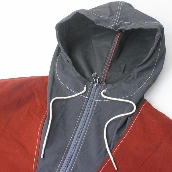 ジムマスター gym master ガーメントウォッシュ ガーデニング アノラックパーカー G757606Z メンズ キャンプ アウトドア ファッション