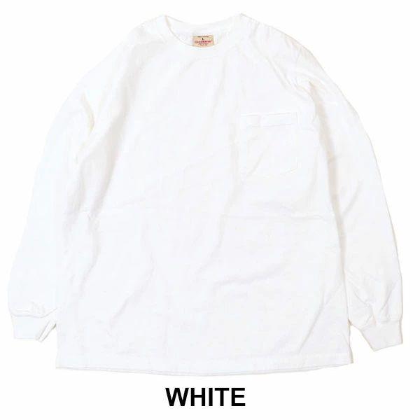 グッドウェア  tシャツ ロング  GOOD WEAR L/S POCKET TEE ヘビーウェイトTEE メンズ トップス 無地 長袖 大きいサイズ コットン MADE IN U.S.A