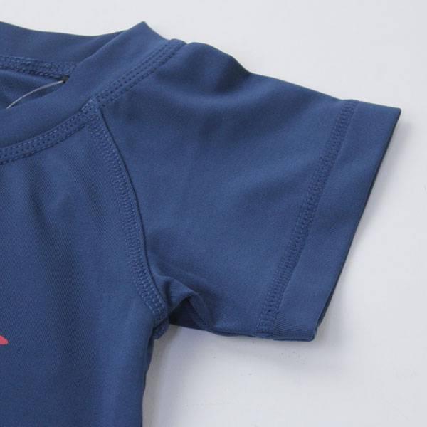 CHUMS チャムス ラッシュガードTEE Tシャツ キッズ CH21-1049 UVカット 速乾