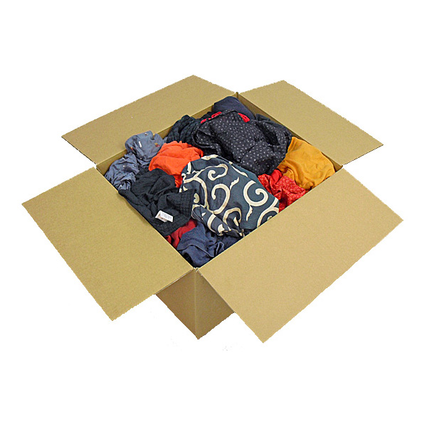 濃色綿ウエス(五色ウエス) 10kg/箱[2kg×5袋]