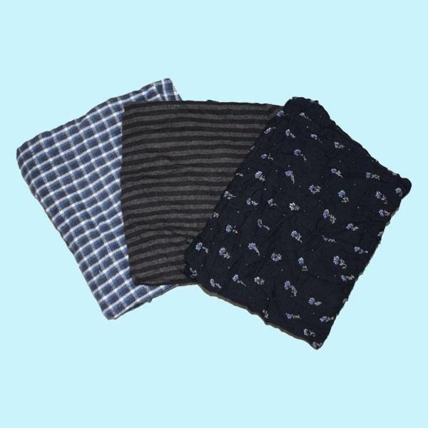 濃色綿ウエス(五色) 20kg梱包/4kg×5袋