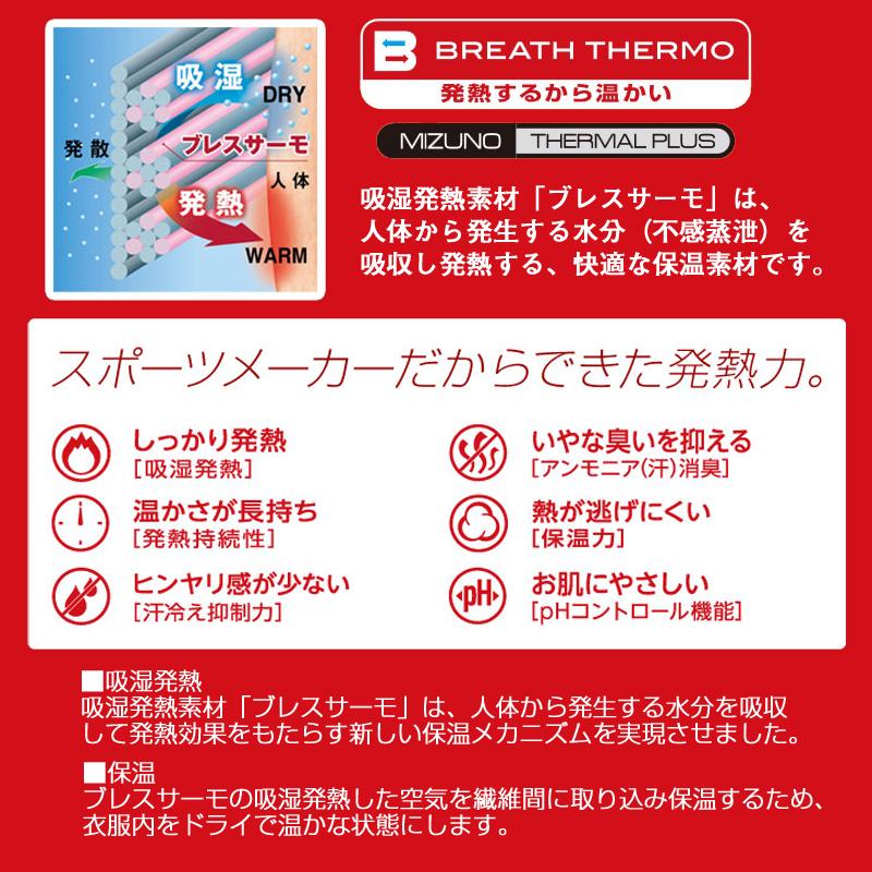 【完売】ミズノ(MIZUNO) C2JB5601 ブレスサーモエブリ ロングタイツ