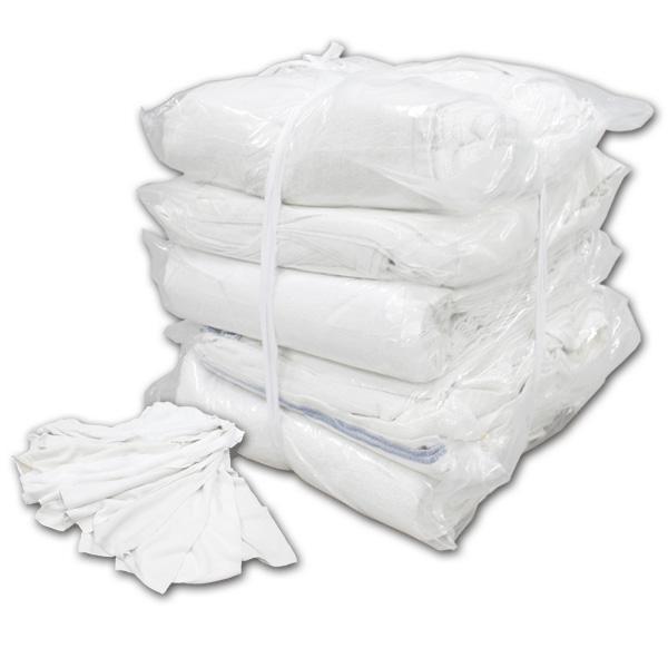 白タオルウエス(洗濯済み,リサイクル生地) 20kg梱包/2kg×10袋 [簡易包装]